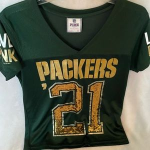 Victoria Secret Greenbay Packers Jersey